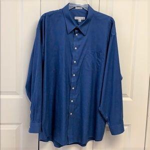 Joseph & Feiss Dress Shirt Size 19 / 36/37 Tall